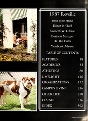 Page 7, 1987 Edition, Mississippi State University - Reveille Yearbook (Starkville, MS) online yearbook collection