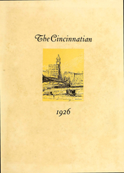 Page 3, 1926 Edition, University of Cincinnati - Cincinnatian Yearbook (Cincinnati, OH) online yearbook collection