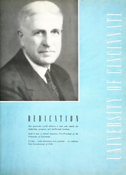 Page 11, 1938 Edition, University of Cincinnati - Cincinnatian Yearbook (Cincinnati, OH) online yearbook collection
