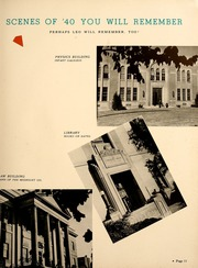 Page 15, 1940 Edition, University of Cincinnati - Cincinnatian Yearbook (Cincinnati, OH) online yearbook collection
