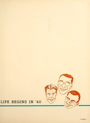 Page 5, 1940 Edition, University of Cincinnati - Cincinnatian Yearbook (Cincinnati, OH) online yearbook collection