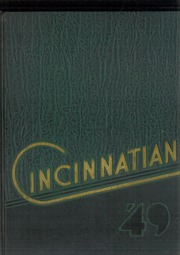 Page 1, 1949 Edition, University of Cincinnati - Cincinnatian Yearbook (Cincinnati, OH) online yearbook collection
