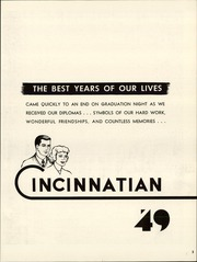 Page 7, 1949 Edition, University of Cincinnati - Cincinnatian Yearbook (Cincinnati, OH) online yearbook collection