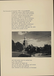 Page 3, 1962 Edition, University of Cincinnati - Cincinnatian Yearbook (Cincinnati, OH) online yearbook collection