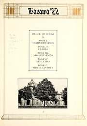 Page 15, 1922 Edition, Lenoir Rhyne College - Hacawa Yearbook (Hickory, NC) online yearbook collection
