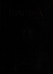 Page 1, 1923 Edition, Lenoir Rhyne College - Hacawa Yearbook (Hickory, NC) online yearbook collection