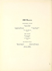 Page 10, 1923 Edition, Lenoir Rhyne College - Hacawa Yearbook (Hickory, NC) online yearbook collection