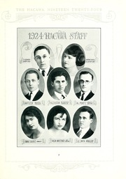 Page 11, 1924 Edition, Lenoir Rhyne College - Hacawa Yearbook (Hickory, NC) online yearbook collection