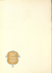Page 6, 1932 Edition, Lenoir Rhyne College - Hacawa Yearbook (Hickory, NC) online yearbook collection