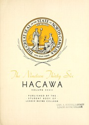 Page 9, 1936 Edition, Lenoir Rhyne College - Hacawa Yearbook (Hickory, NC) online yearbook collection
