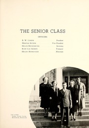 Page 17, 1938 Edition, Lenoir Rhyne College - Hacawa Yearbook (Hickory, NC) online yearbook collection