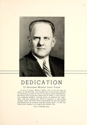Page 9, 1938 Edition, Lenoir Rhyne College - Hacawa Yearbook (Hickory, NC) online yearbook collection