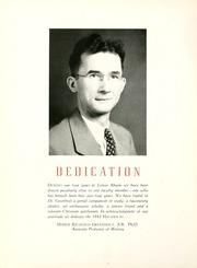 Page 10, 1942 Edition, Lenoir Rhyne College - Hacawa Yearbook (Hickory, NC) online yearbook collection