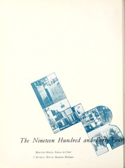 Page 6, 1944 Edition, Lenoir Rhyne College - Hacawa Yearbook (Hickory, NC) online yearbook collection