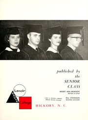 Page 7, 1961 Edition, Lenoir Rhyne College - Hacawa Yearbook (Hickory, NC) online yearbook collection