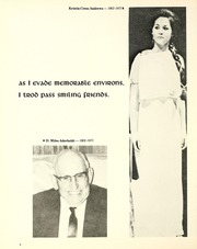 Page 12, 1974 Edition, Lenoir Rhyne College - Hacawa Yearbook (Hickory, NC) online yearbook collection
