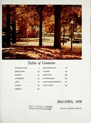 Page 5, 1979 Edition, Lenoir Rhyne College - Hacawa Yearbook (Hickory, NC) online yearbook collection