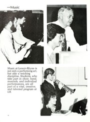 Page 14, 1980 Edition, Lenoir Rhyne College - Hacawa Yearbook (Hickory, NC) online yearbook collection