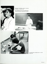 Page 15, 1986 Edition, Lenoir Rhyne College - Hacawa Yearbook (Hickory, NC) online yearbook collection