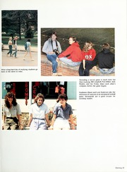 Page 17, 1986 Edition, Lenoir Rhyne College - Hacawa Yearbook (Hickory, NC) online yearbook collection
