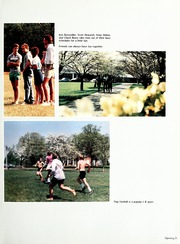 Page 9, 1986 Edition, Lenoir Rhyne College - Hacawa Yearbook (Hickory, NC) online yearbook collection