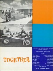 Page 8, 1970 Edition, Riverside Polytechnic High School - Koala Yearbook (Riverside, CA) online yearbook collection