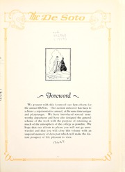 Page 7, 1929 Edition, Memphis State University - DeSoto Yearbook (Memphis, TN) online yearbook collection
