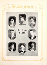 Page 9, 1929 Edition, Memphis State University - DeSoto Yearbook (Memphis, TN) online yearbook collection