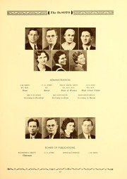 Page 15, 1935 Edition, Memphis State University - DeSoto Yearbook (Memphis, TN) online yearbook collection