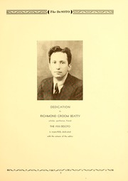 Page 7, 1935 Edition, Memphis State University - DeSoto Yearbook (Memphis, TN) online yearbook collection