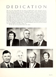 Page 9, 1949 Edition, Memphis State University - DeSoto Yearbook (Memphis, TN) online yearbook collection