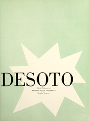 Page 7, 1958 Edition, Memphis State University - DeSoto Yearbook (Memphis, TN) online yearbook collection