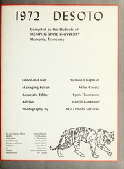 Page 5, 1972 Edition, Memphis State University - DeSoto Yearbook (Memphis, TN) online yearbook collection