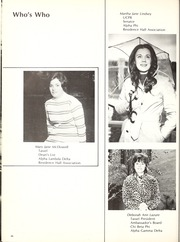 Page 50, 1972 Edition, Memphis State University - DeSoto Yearbook (Memphis, TN) online yearbook collection