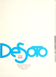 Page 5, 1976 Edition, Memphis State University - DeSoto Yearbook (Memphis, TN) online yearbook collection