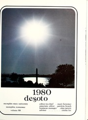 Page 5, 1980 Edition, Memphis State University - DeSoto Yearbook (Memphis, TN) online yearbook collection