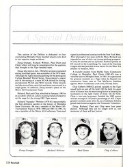 Page 132, 1984 Edition, Memphis State University - DeSoto Yearbook (Memphis, TN) online yearbook collection