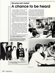 Page 212, 1985 Edition, Memphis State University - DeSoto Yearbook (Memphis, TN) online yearbook collection