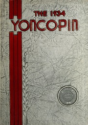 Page 1, 1934 Edition, Centenary College of Louisiana - Yoncopin Yearbook (Shreveport, LA) online yearbook collection