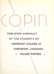 Page 9, 1934 Edition, Centenary College of Louisiana - Yoncopin Yearbook (Shreveport, LA) online yearbook collection