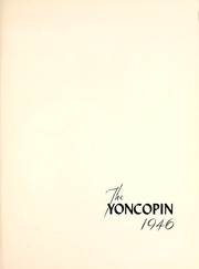 Page 5, 1946 Edition, Centenary College of Louisiana - Yoncopin Yearbook (Shreveport, LA) online yearbook collection
