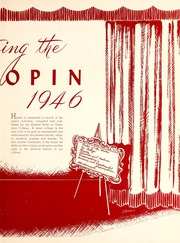 Page 7, 1946 Edition, Centenary College of Louisiana - Yoncopin Yearbook (Shreveport, LA) online yearbook collection