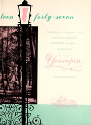 Page 7, 1947 Edition, Centenary College of Louisiana - Yoncopin Yearbook (Shreveport, LA) online yearbook collection