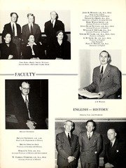 Page 36, 1950 Edition, Centenary College of Louisiana - Yoncopin Yearbook (Shreveport, LA) online yearbook collection