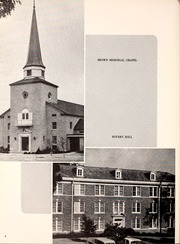 Page 8, 1958 Edition, Centenary College of Louisiana - Yoncopin Yearbook (Shreveport, LA) online yearbook collection