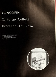 Page 5, 1972 Edition, Centenary College of Louisiana - Yoncopin Yearbook (Shreveport, LA) online yearbook collection