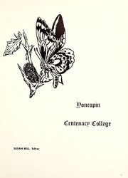 Page 5, 1973 Edition, Centenary College of Louisiana - Yoncopin Yearbook (Shreveport, LA) online yearbook collection