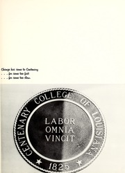 Page 7, 1973 Edition, Centenary College of Louisiana - Yoncopin Yearbook (Shreveport, LA) online yearbook collection