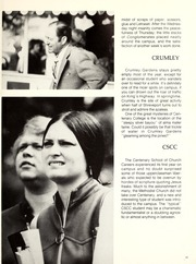 Page 17, 1975 Edition, Centenary College of Louisiana - Yoncopin Yearbook (Shreveport, LA) online yearbook collection