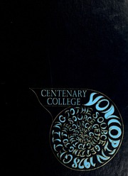 1978 Edition, Centenary College of Louisiana - Yoncopin Yearbook (Shreveport, LA)